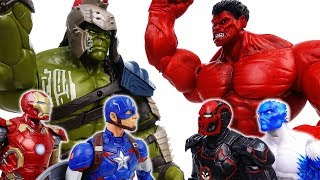 Download Go Avengers, The Villains Are Coming~! No one is match for Gladiator Hulk - ToyMart TV Video