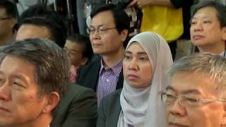 Download 2018年5月26日行政院長賴清德出席「馬來西亞僑台商攬才博覽會」開幕典禮 Video