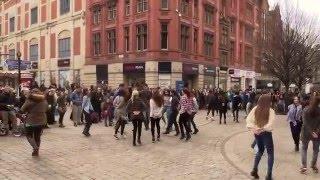Download FlashMob in Manchester - Greek Zorbas / Zempekiko tis Evdokias Video
