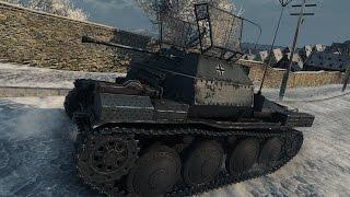 Download WoT Pz I C (with Milkys skin) | 14 kills - Winter Himmelsdorf Video
