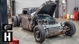Download Homebuilt Turbo Diesel 1949 Ford Dually Hot Rod Video