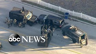 Download San Bernardino Shooting Suspects' Violent Standoff with Police Video