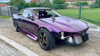 Download Start ??? Nissan 200sx s14,5 2JZ work #5 #KRSTDRFT drift lifestyle vlog #294 Video