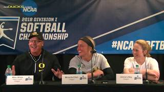 Download Mike White, Miranda Elish, and Jenna Lilley Following Their Series Tying Victory in Super Regionals Video