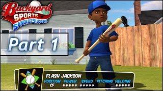Download Backyard Baseball: Part 1 - Flash Jackson Jr. vs Pablo Sanchez Video