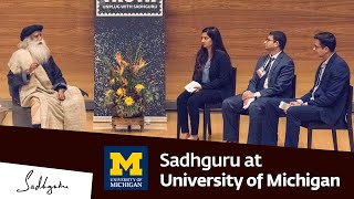 Download Sadhguru at University of Michigan, Ross Business School – Youth and Truth, Feb 15, 2019 Video