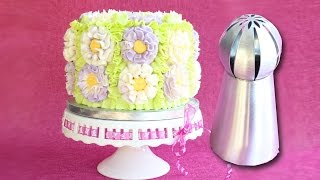 Download Russian Ball Tip on a cake - How to use Russian Ball Tips Video