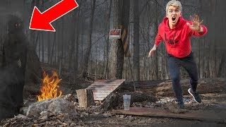 Download EXPLORING ABANDONED FOREST!! (HAUNTED) Video