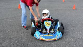 Download Aubrynn's (4 years old) first Kid Kart Lesson Video