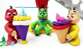 Download Baby Video Stop-Motions Baby-ice-creams Compilation-Cute Play Doh Baby Cartoons Video