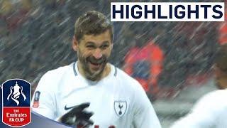 Download Llorente Hat-trick Sees Spurs Through | Tottenham 6-1 Rochdale | Emirates FA Cup 2017/18 Video