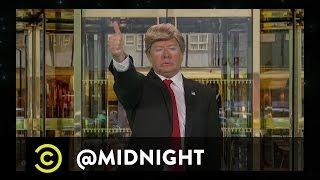 Download Donald Trump Presents #HashtagWars - #TrumpAQuote - @midnight with Chris Hardwick Video