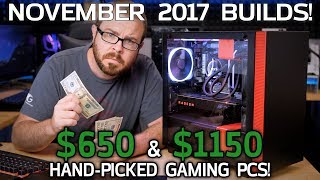 Download The $650 and $1150 Gaming PCs Everyone Should Build - November / Black Friday 2017 Video