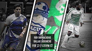 Download RGV Barracudas vs Dallas Sidekicks Video
