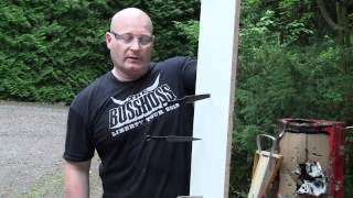 Download Shooting throwing knives with the slingshot Video