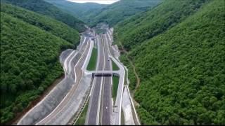 Download O-5 Gebze-Bursa otoyolu ve Osmangazi Köprüsü havadan / Gebze-Bursa highway Video