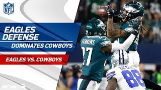 Download Philadelphia's Defense Dominates Dallas w/ 4 Sacks & 3 INTs | Eagles vs. Cowboys | Wk 11 Player HLs Video