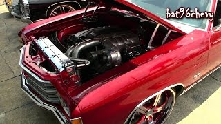 Download IN & OUT CUSTOMS: PROCHARGED 6.0 LS '71 Chevelle SS on 22″ Vellano Wheels - 1080p HD Video