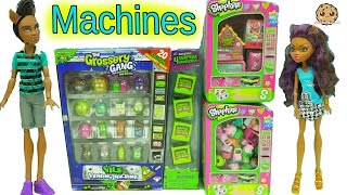 Download Shopkins Surprise Blind Bags + Grossery Gang Vile Vending Machine with Exclusives Video