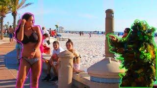 Download BUSHMAN PRANK AT THE BEACH Video