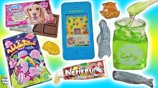 Download Big Candy Show! Edible Green Slime! Smart Phone Game Candy Puppy Chocolate Doctor Squish Video
