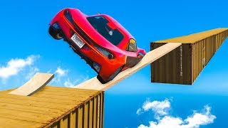 Download IMPOSSIBLE CAR SKILL TEST! (GTA 5 Funny Moments) Video
