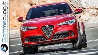 Download Alfa Romeo Stelvio Quadrifoglio - 510 HP 2.9 V6 Bi-Turbo Petrol Engine Video