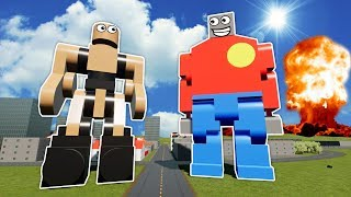 Download MEGA LEGO BOB VS CARPET NUKE! - Brick Rigs Gameplay - Lego City Toy Creations Video