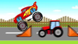 Download Fairy Tractors   Kids Tractor   Bajki Traktory - Bazylland Video