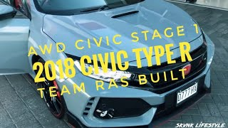 Download AWD EG Civic Stage 1! 2018 Civic Type R! Team Ras Built! - SKVNK LIFESTYLE EPISODE 20 Video