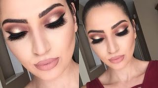 Download Holiday Look: Thanksgiving Makeup Tutorial | Cranberry & Gold | Video