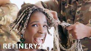 Download I Shaved Off All My Hair & Bleached It Blonde | Hair Me Out | Refinery29 Video