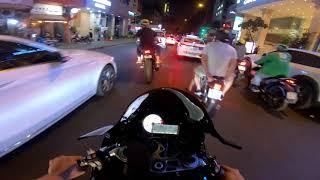 Download Dàn Xe Khủng đi dạo phố đi bộ BMW-Ducati-Z1000-Z900-MT09 Video