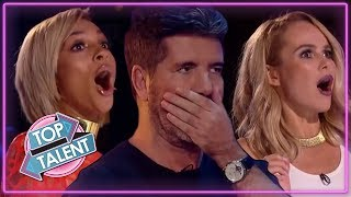 Download OMG! Simon Cowell NEAR DEATH AUDITIONS On Got Talent! Top Talent Video