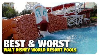 Download TOP 5 BEST & WORST WDW Resort Pools | Best and Worst | 11/15/17 Video