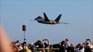 Download F 22 Aerobatics Display At Avalon Airshow 2017 Day 1&2 Video