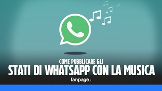 Download Pubblicare gli stati di WhatsApp con la musica Video
