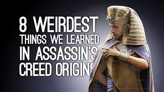Download Assassin's Creed Origins: 8 Weirdest Things We Learned Playing Discovery Tour Mode Video