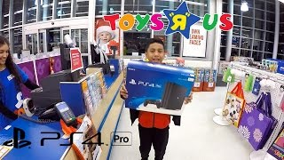 Download PS4Pro Shopping at Toys R Us and New TV from Best Buy Video