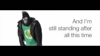 Download Sing - I'm Still Standing Taron Egerton LYRICS Video