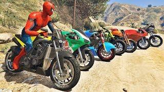 Download HOMEM ARANHA E AMIGOS SALTO COM MOTO! MOTOS COM SPIDERMAN - IR GAMES Video