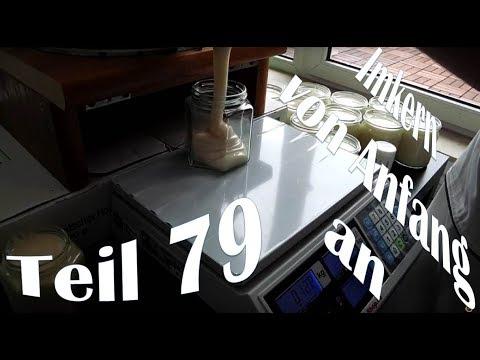 Imkern von Anfang an - Teil 79 - cremigen Rapshonig abfüllen