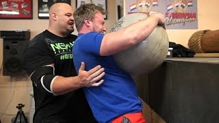 Download How To Be The World's Strongest Man   Arnold Strongman Classic Event Training   Part 3 w/ Brian Shaw Video