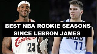 Download Ranking The 10 Best NBA Rookie Seasons Since LeBron James Video