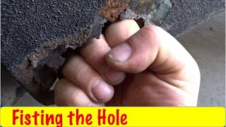 Download Repairing Fist Sized Rust Hole on F150 Video