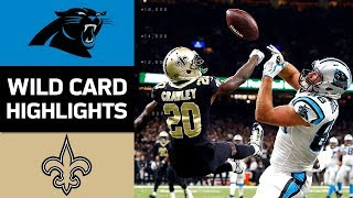 Download Panthers vs. Saints | NFL Wild Card Game Highlights Video