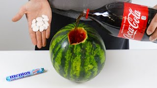Download MENTOS VS COCA COLA WATERMELON Video