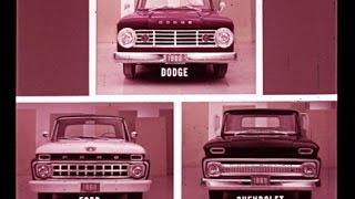 Download 1965 Dodge Trucks vs Chevrolet & Ford Comparison Dealer Promo Film Video
