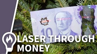 Download Plastic Banknotes and lasers Video
