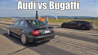 Download 1300HP Audi S4 B5 vs 1500HP Bugatti Chiron Video